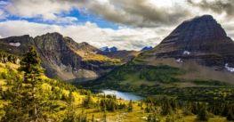 Mê mẩn trước cảnh sắc nơi vườn quốc gia gần biên giới Mỹ – Canada
